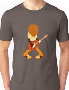 Guitar Player Rocking Out Unisex T-Shirt
