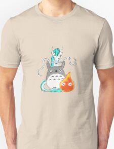 A tribute to Hayao Miyazaki Unisex T-Shirt