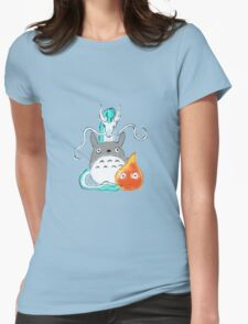 A tribute to Hayao Miyazaki Womens Fitted T-Shirt