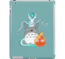 A tribute to Hayao Miyazaki iPad Case/Skin