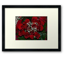 roses for the bubble ladies Framed Print