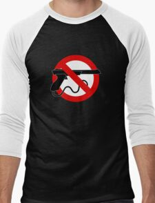 Light Gun Control Men's Baseball ¾ T-Shirt