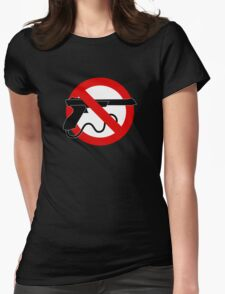 Light Gun Control Womens Fitted T-Shirt