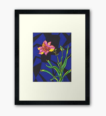 The Healing Lily Framed Print