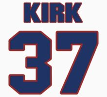 National football player Ken Kirk jersey 37 by imsport