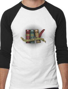 Encylcopedia Exterminata Men's Baseball ¾ T-Shirt