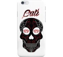 Red Cali Skull iPhone Case/Skin