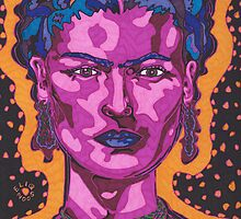 The Inspiration of Frida Kahlo by Angelique Moselle Price