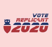 Vote Replicant 2020 Kids Tee