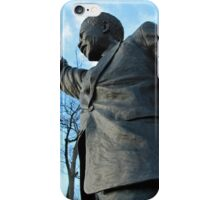 Nelson Mandella At South African Embassy iPhone Case/Skin