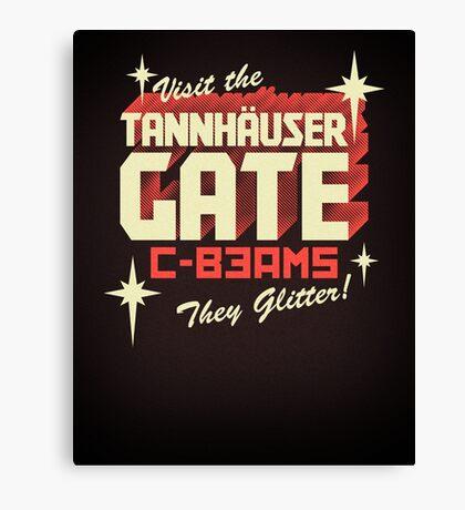 Tannhäuser Gate Canvas Print