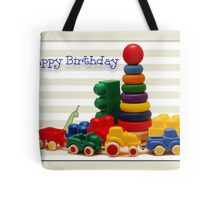 Little Boy's Birthday Card Tote Bag