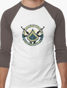 2nd Massachussetts - Skitter Patrol Men's Baseball ¾ T-Shirt