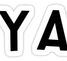 "South Park Lorde ""Ya Ya Ya"" Sticker"