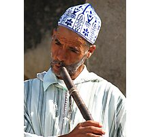 Snake Charmer in Morocco II Photographic Print