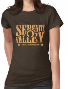 Serenity Valley Womens Fitted T-Shirt