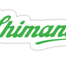 Shimano - Green Sticker
