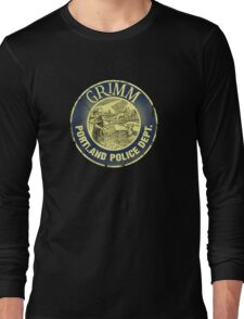 Grimm Police Department Long Sleeve T-Shirt