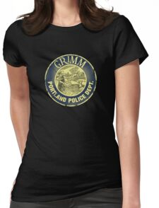 Grimm Police Department Womens Fitted T-Shirt