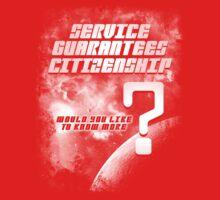 Service Guarantees Citizenship One Piece - Short Sleeve
