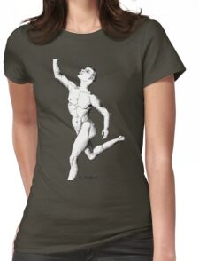 Anatomy of a Dancer Womens Fitted T-Shirt