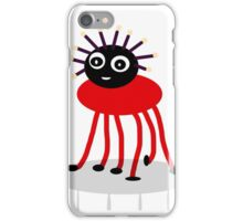 BUG-ME-NOT, red iPhone Case/Skin