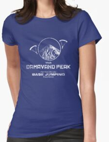 Damavand Peak Womens Fitted T-Shirt
