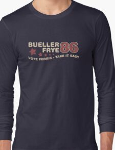 Vote Bueller Long Sleeve T-Shirt