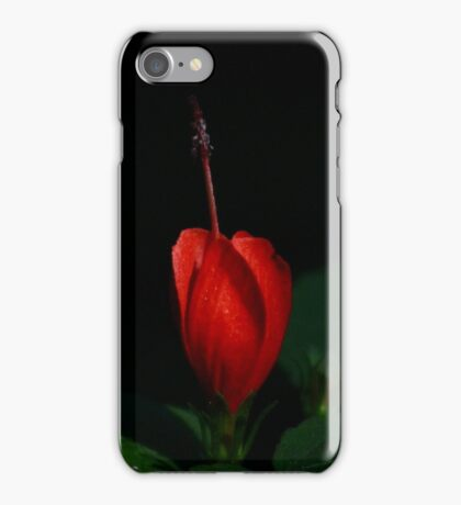 Lonely Hibiscus iPhone Case/Skin