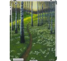 Spring path iPad Case/Skin
