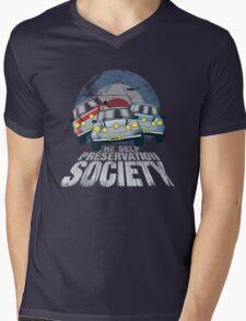 The Self Preservation Society Mens V-Neck T-Shirt