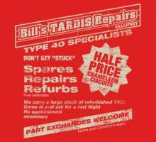 Bill's Tardis Repairs One Piece - Short Sleeve