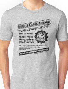 Bill's Tardis Repairs Unisex T-Shirt