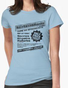Bill's Tardis Repairs Womens Fitted T-Shirt