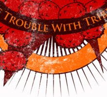The Trouble with Tribbles. Sticker