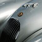 Jaguar XK 120 Bonnet Mascot 2 by ragman