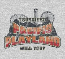 I Survived Pacific Playland Kids Tee
