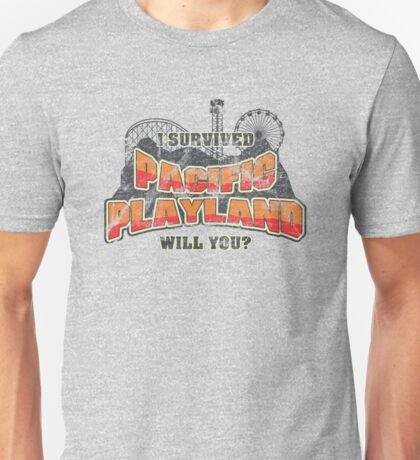 I Survived Pacific Playland T-Shirt