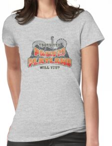 I Survived Pacific Playland Womens Fitted T-Shirt