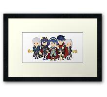Chibi Fire Emblem Gang Framed Print