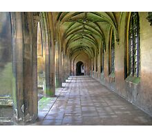 New Court Cloisters, St John's College Cambridge Photographic Print