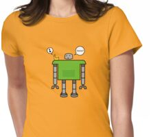 Human? Womens Fitted T-Shirt