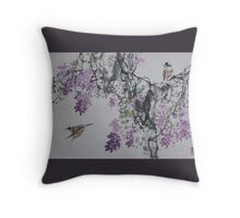 Spring v1 Throw Pillow
