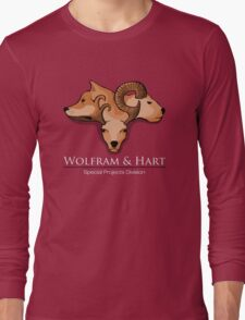 Wolfram and Hart - Angel Long Sleeve T-Shirt