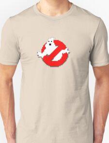 8 bit Ghostbusters logo. Unisex T-Shirt