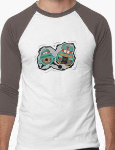 Black Hole Bots Men's Baseball ¾ T-Shirt