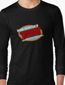 Dirk Gently's Holistic Detective Agency Logo Long Sleeve T-Shirt
