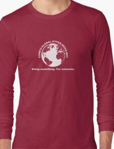 Compu-Global-Hyper-Mega-Net Long Sleeve T-Shirt