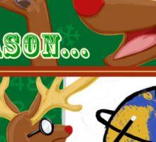 The Actual Reason for the Season Sticker