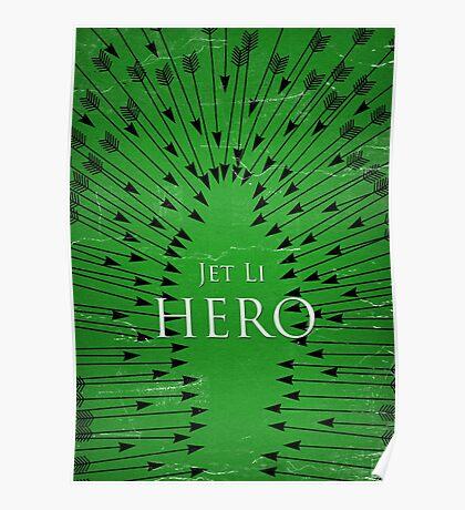 Hero - Green Poster